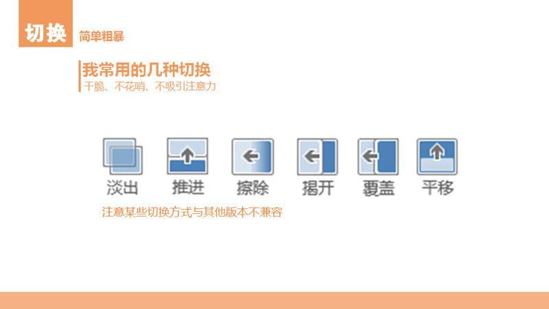 扁平化PPT设计制作教程5 动画和形状