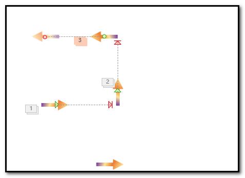 PPT怎么制作彩色箭头沿正方形移动的动画