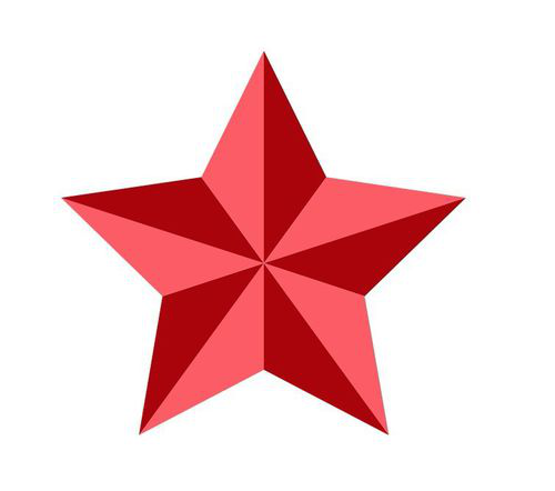 PPT用雷达图绘制五角星?郑州家具设计培训图片