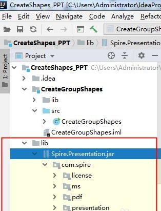 如何用Java在PPT幻燈片中添加組合圖形